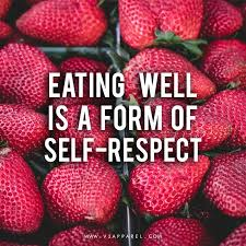 eating selfrespect